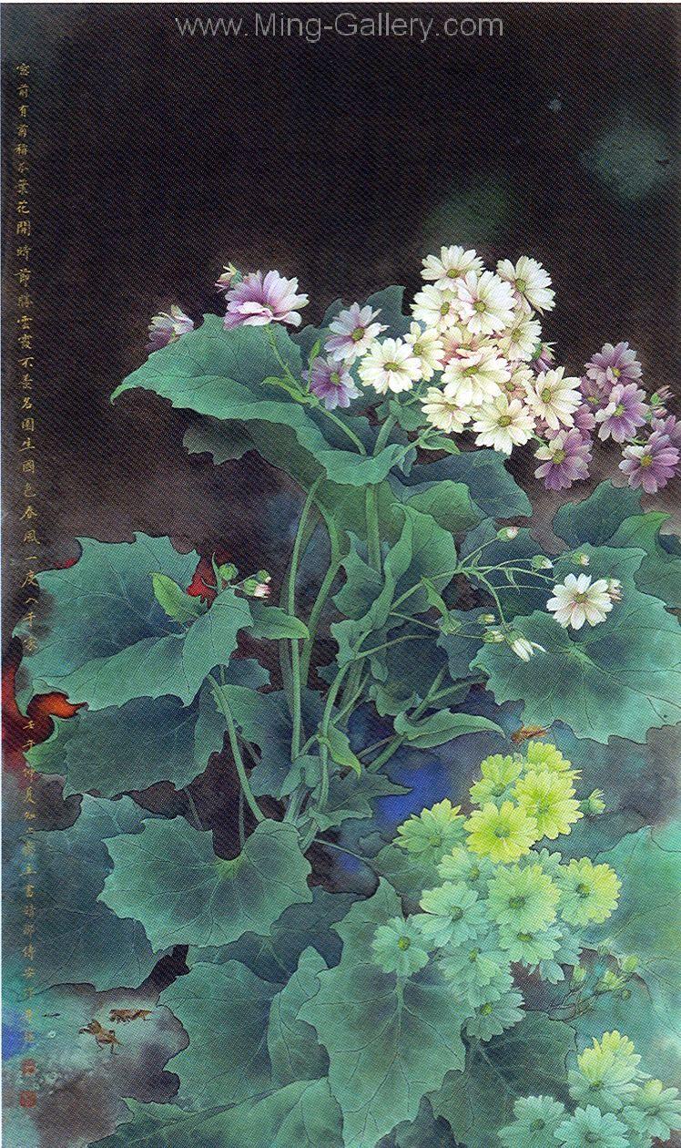 Flo0110 stilllife flower painting for sale flower
