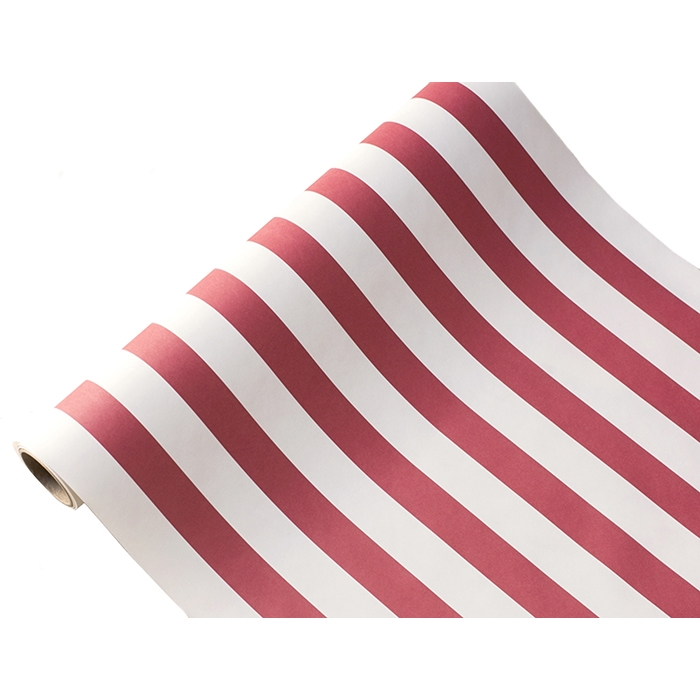 Red Classic Stripe Table Runner Paper Table Runner Red Stripe Paper Table Runner Striped Table Runner Table Runners