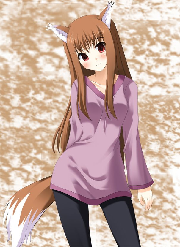 Spice And Wolf Anime Wolf Girl Spice And Wolf Spice And Wolf Holo