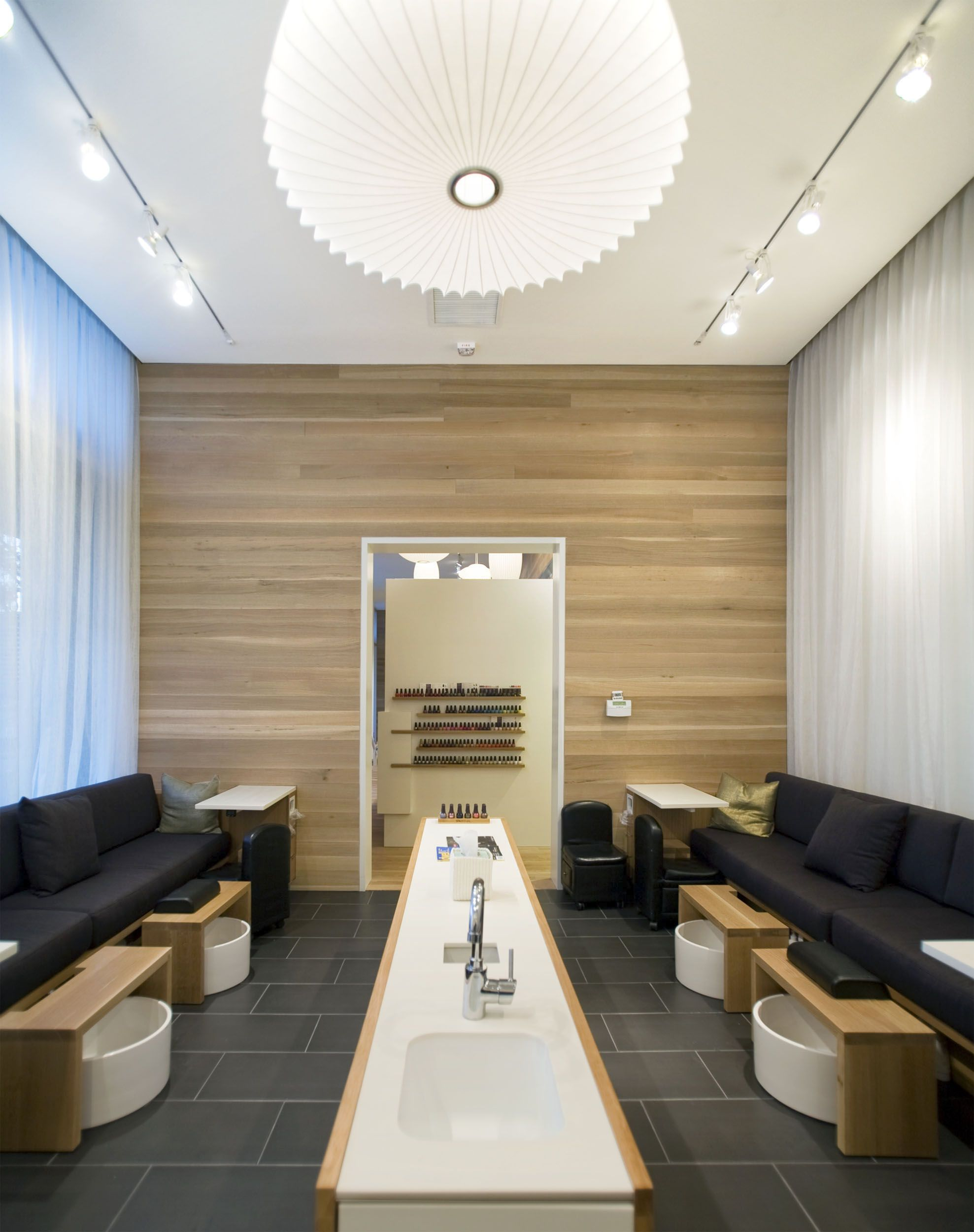 Looking out of the manicure and pedicure room. | experience | Nail ...