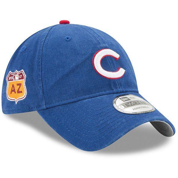 efb1c82e013 Chicago Cubs 2017 Spring Training 9Twenty Adjustable Hat by New Era ...