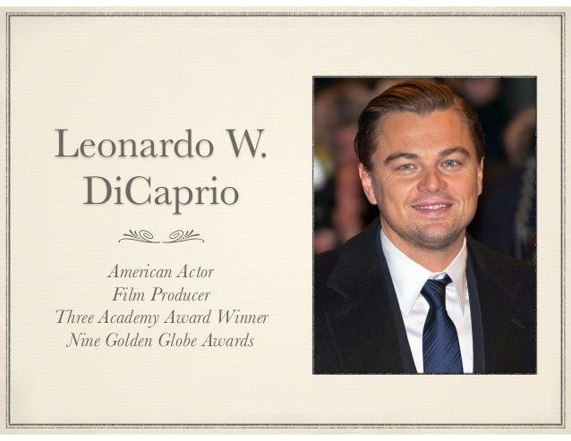 Illuminati Rings Pastors: Famous Freemasons - Leonard.DiCaprio