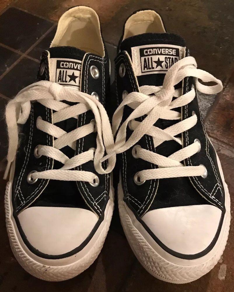 converse high tops size 4 black - 55