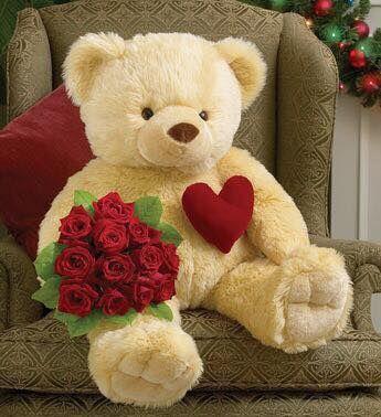 Pin By Brina Bih On Valentines Day Pinterest Teddy Bear