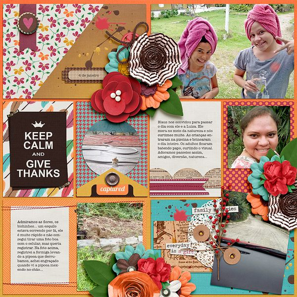 I'm in love with the Life Page Templates. It was so fun and easy to make my PL pages.