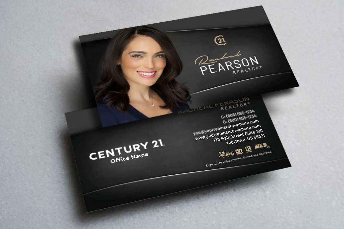 New Century 21 Business Cards Are Ready Realtor Century21 Realestate Realtors R Realtor Business Cards Company Brochure Design Real Estate Business Cards