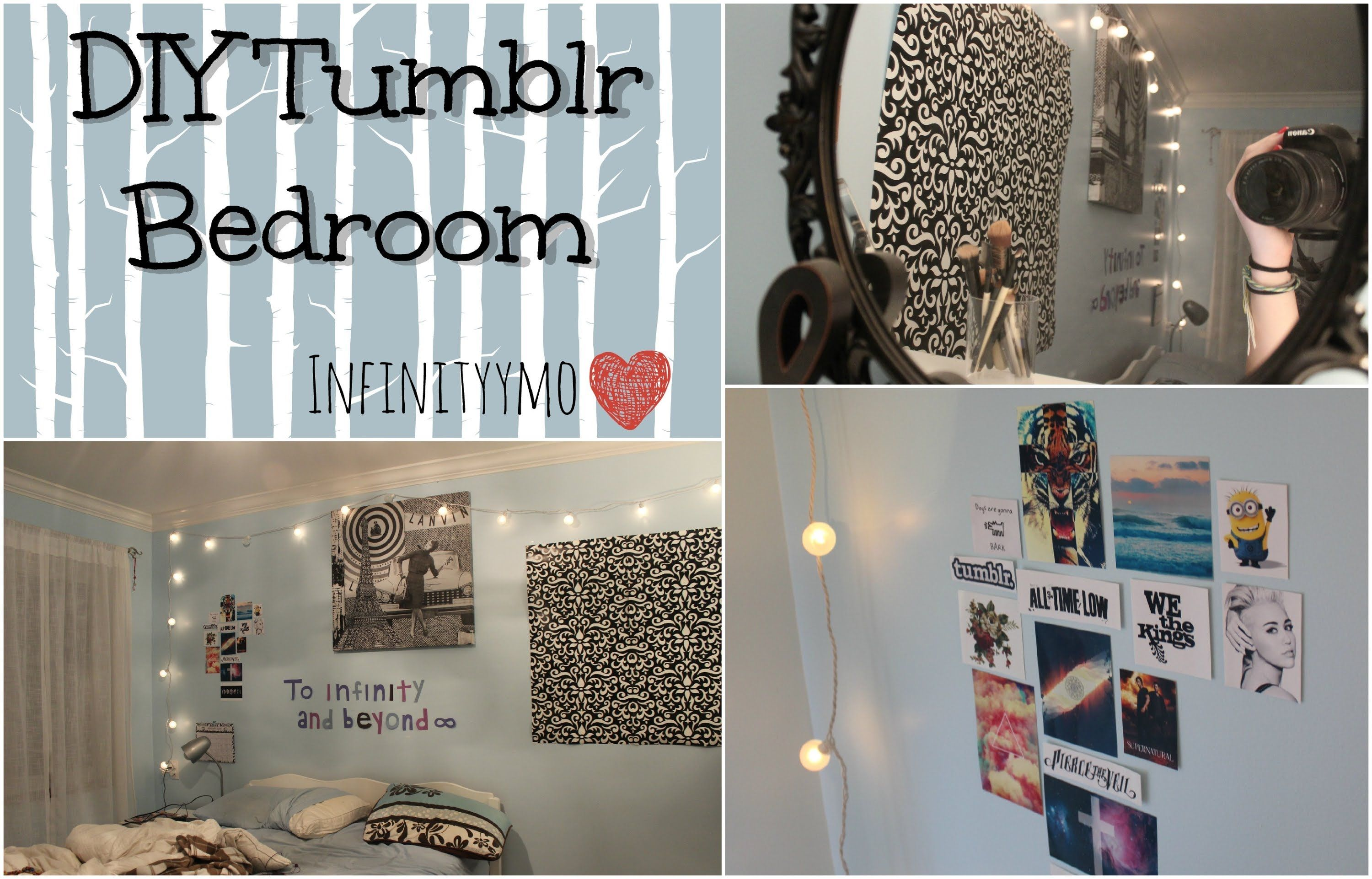 diy tumblr bedroom || infinityymo | belle | pinterest | beautiful