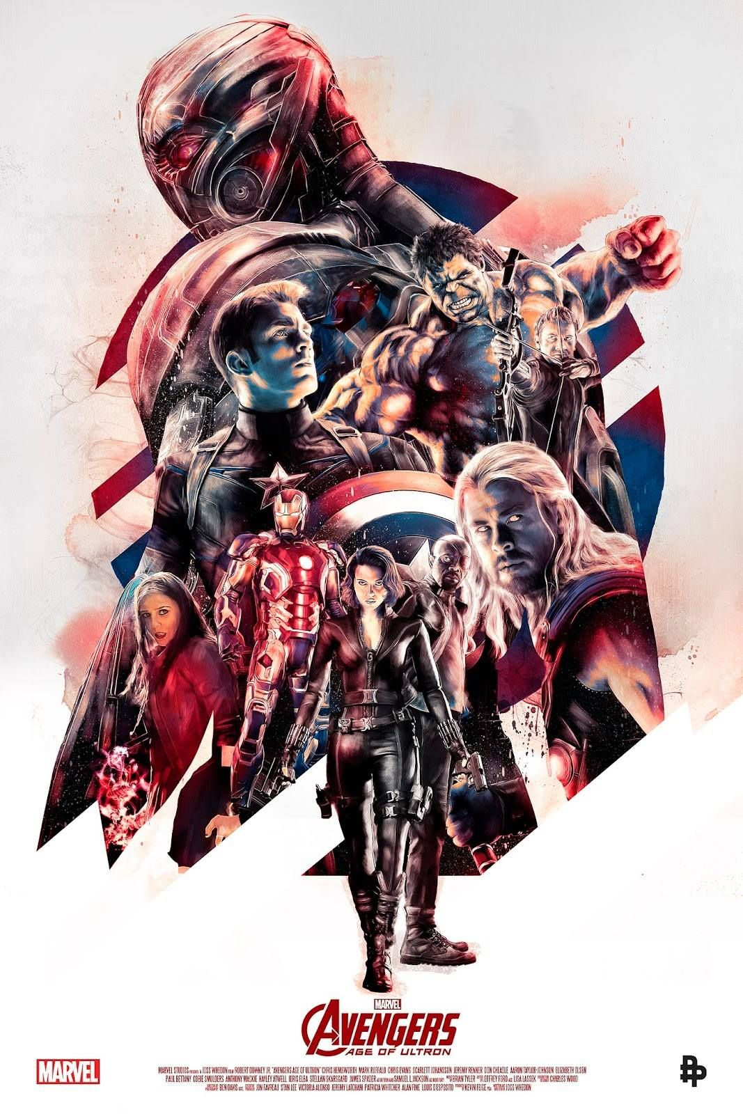 bear1na:  Avengers: Age of Ultron by Rich Davies *
