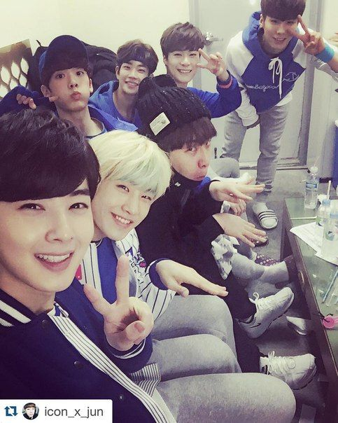 Sanha!! Haha cutie. The guy in the middle is kinda creepy tho....