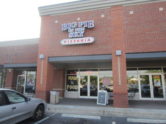 Pie In The Sky Pizzeria 2090 Baker Road Kennesaw Ga