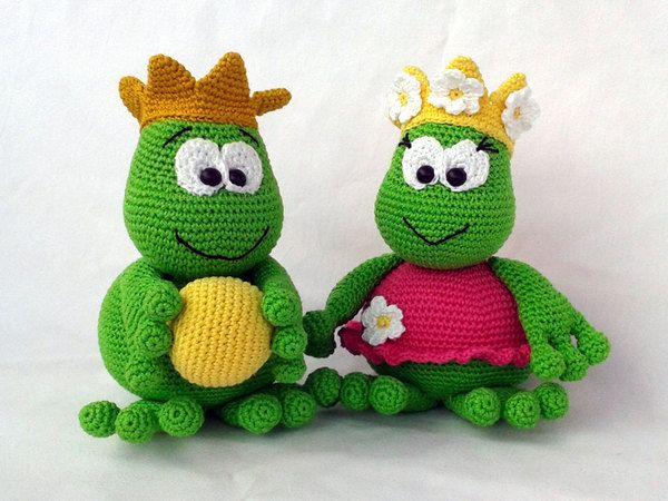 Froschkönig und seine Froschkönigin\