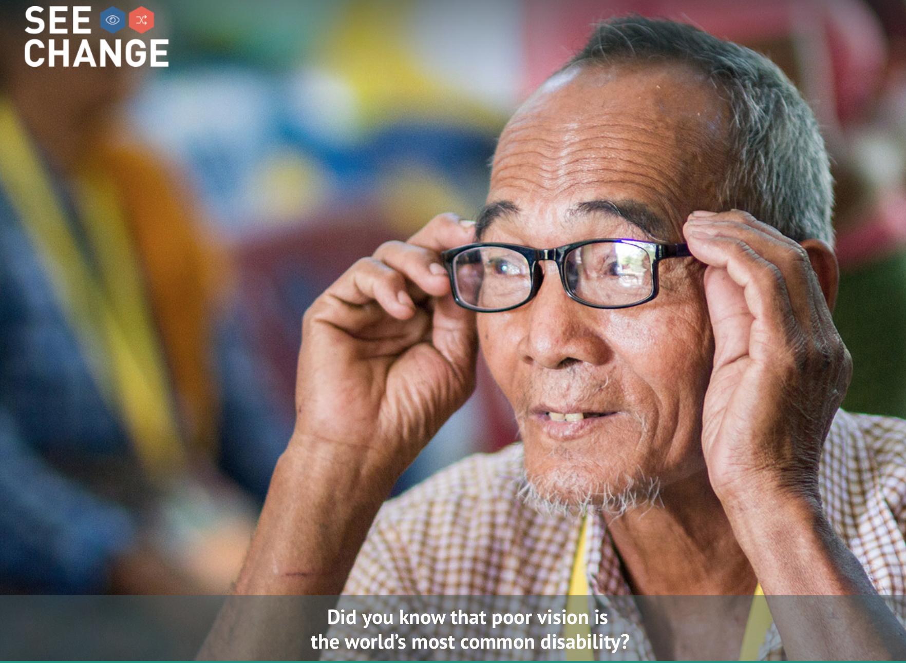 Essilor See Change, the lenses manufacturer, serves ...