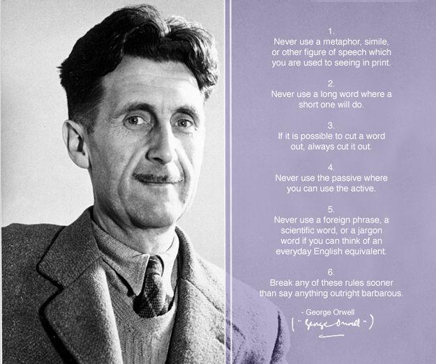 What was george orwell's influence on british literature?