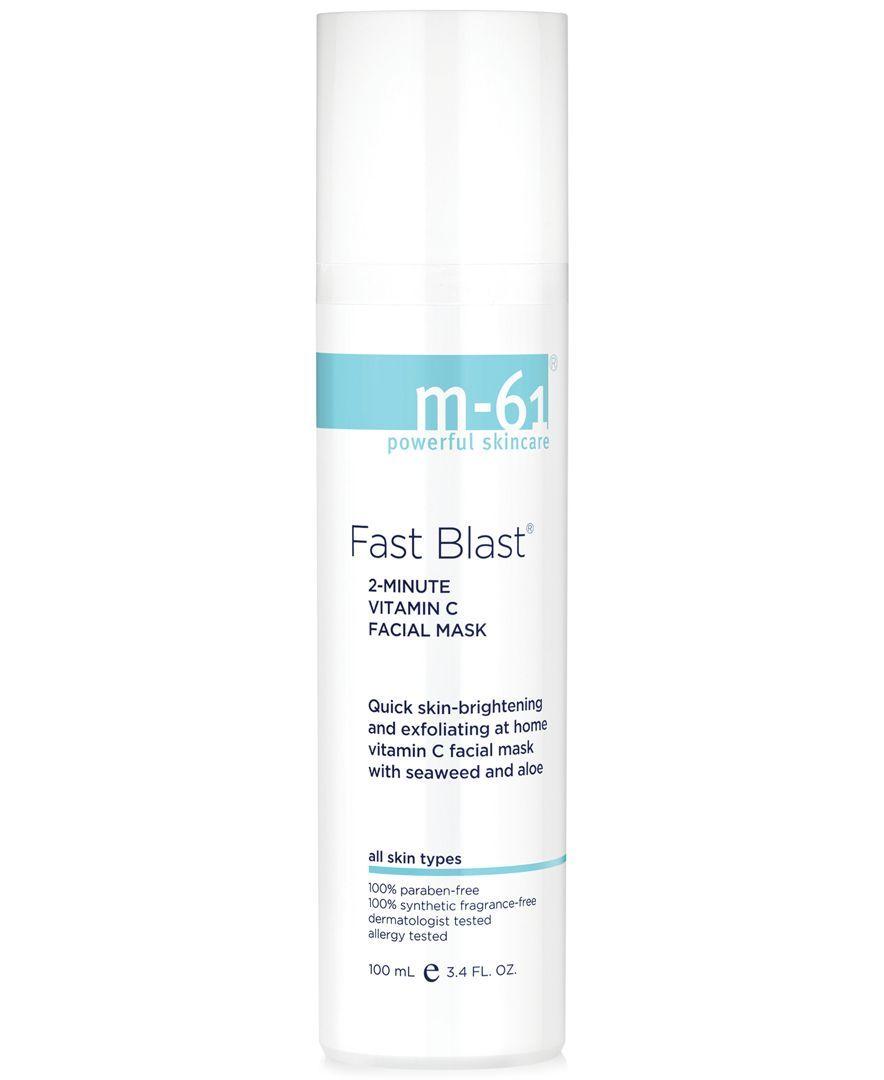 Fast Blast 2 Minute Vitamin C Facial Mask 3 4 Oz Facial Masks Skin Care Skin Brightening