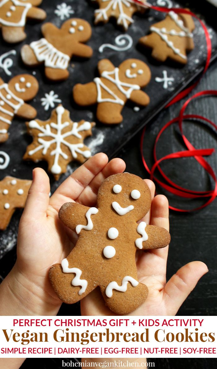 Why You Need To Make Vegan Gingerbread Cookies With Your Kids Recipe Vegan Gingerbread Cookies Vegan Gingerbread Ginger Bread Cookies Recipe