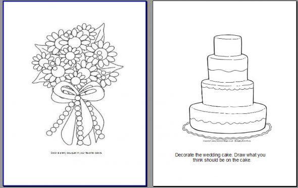 coloring activities wedding - Google Search | Wedding | Pinterest ...
