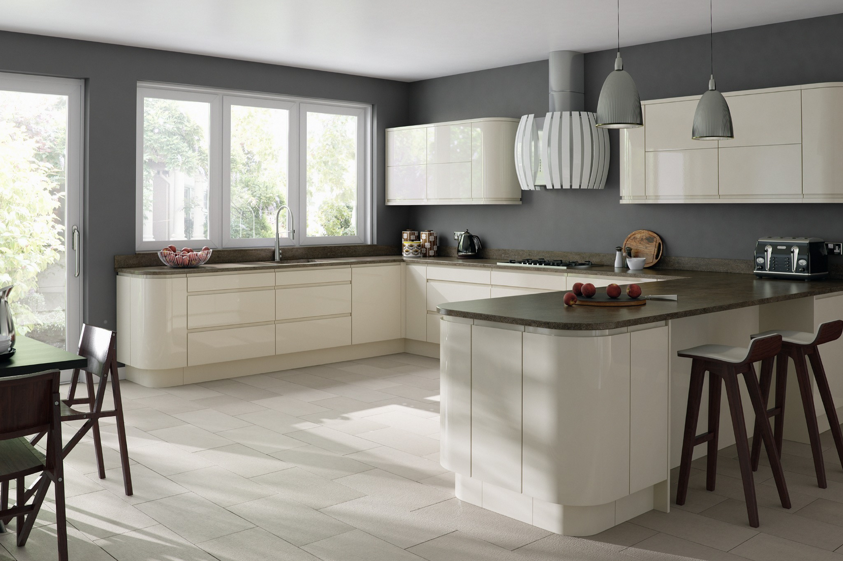Download Wallpaper Replacement Kitchen Cabinet Doors White Gloss