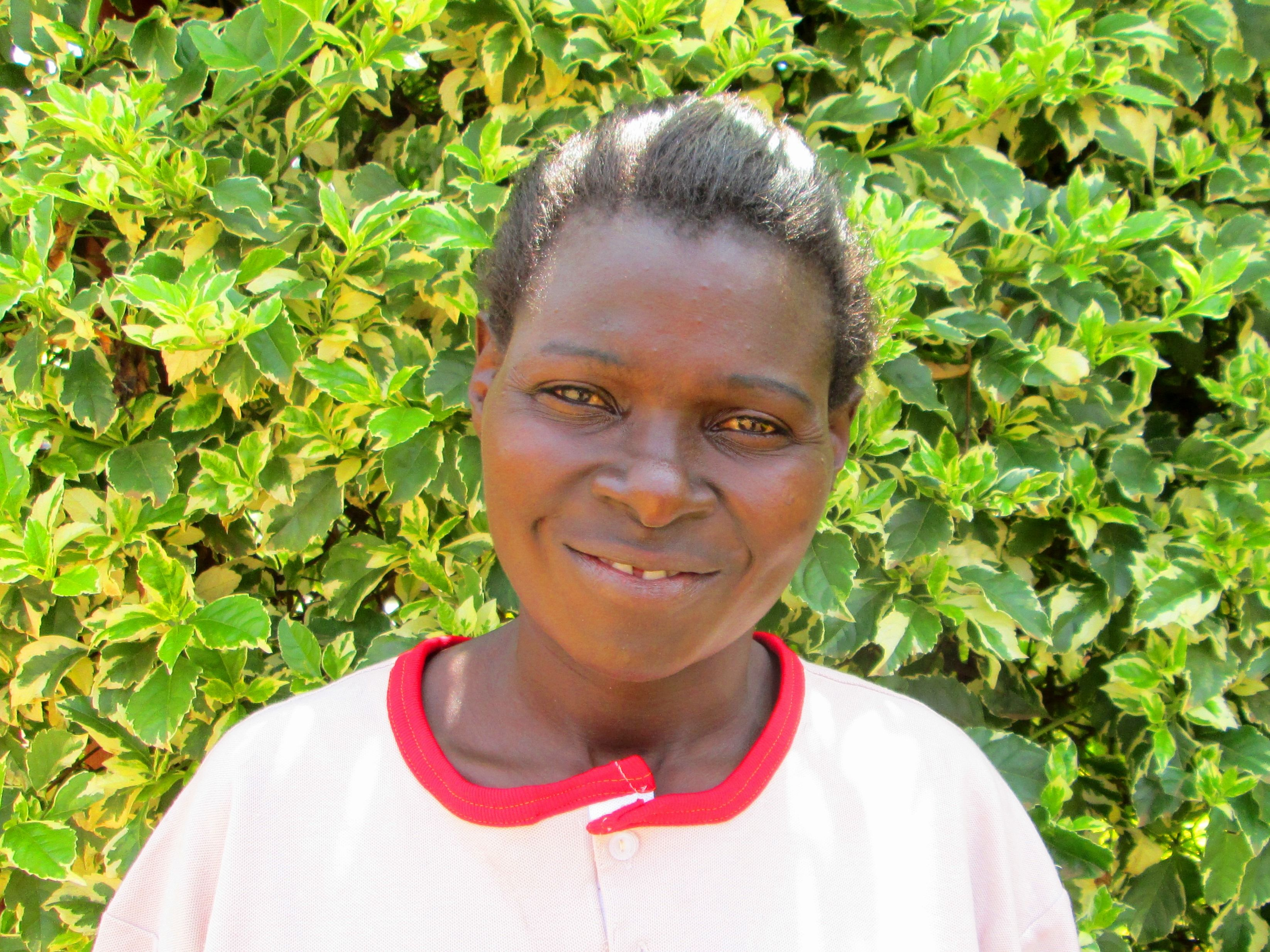 Meet: Hilda Awuor // J127 Sewing Participant.  Q1: Why do you want to be apart of James127 training? I hope the training will help me get a job so I can take care of my family and give them a comfortable life. Q2: Tell us about your family. I have a father who lives with my two kids. I live with my older child who took the exams last year. I am unable to give him more education due to a lack of job.