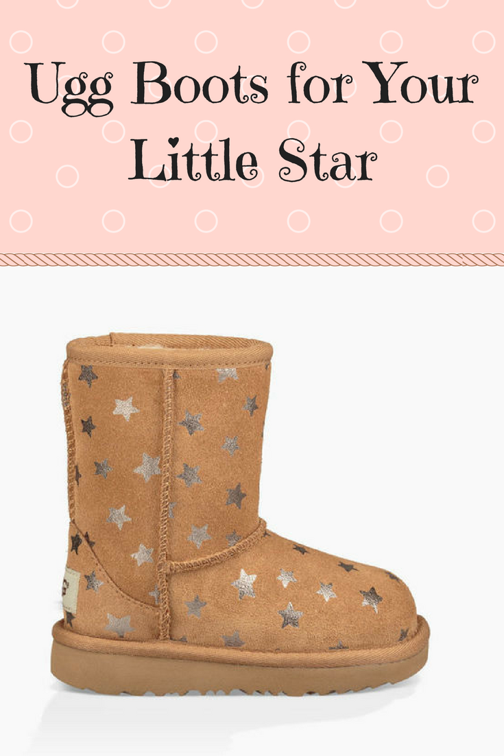 7044a12b364 Adorable toddler girl Ugg boots with stars. My baby girl must have ...