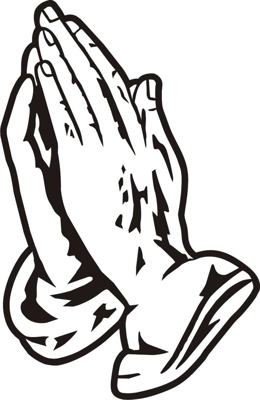 Black Praying Hands Clipart Clipart Panda Free Clipart Images