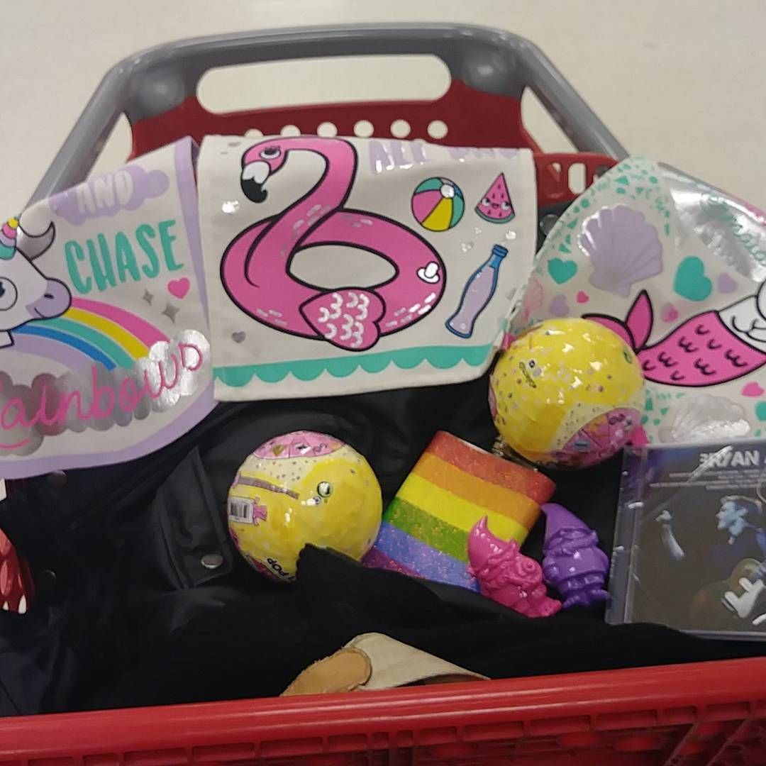 Just A Few Friday Night Goodies Shopping At Target With Snugglemynx Lolsurprise Bryanadams Rainbowflask Gnomes Unicorn Flamingos Lol Flask Lunch Box