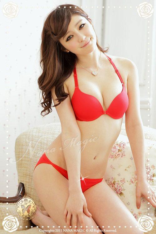 9237cb1050 Red fasion bra