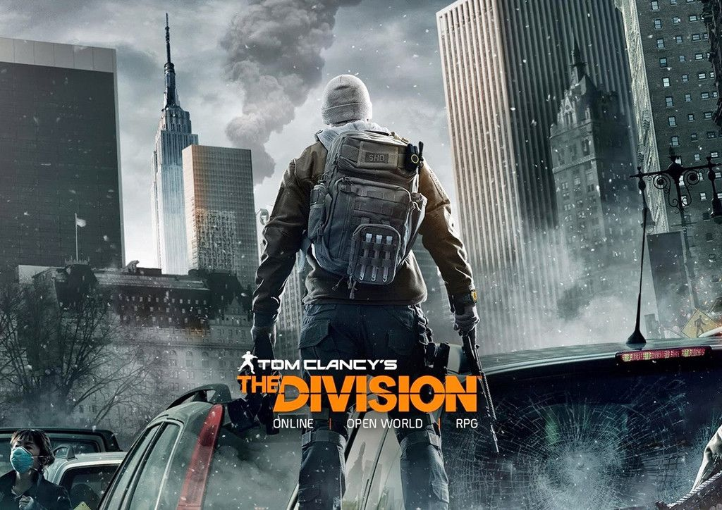 Tom Clancy's The Division Poster Ps4 games, Tom clancy