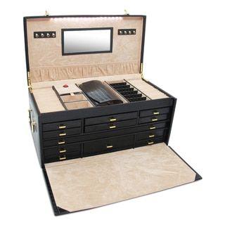 WOLF XL Heirloom Jewelry Trunk Red Jewelry storage and Storage