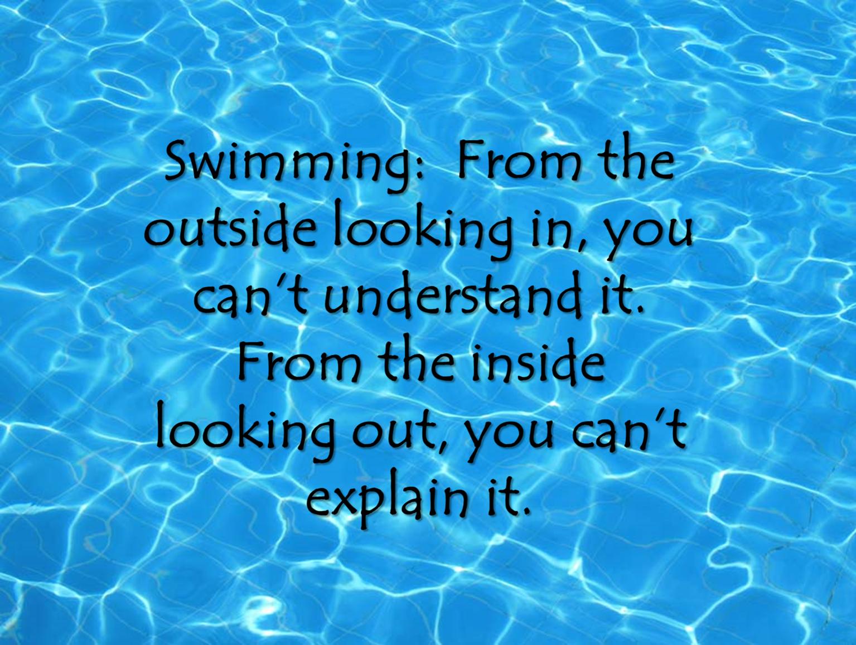 Swim Quote Quotes Pinterest Swimming Swimmer
