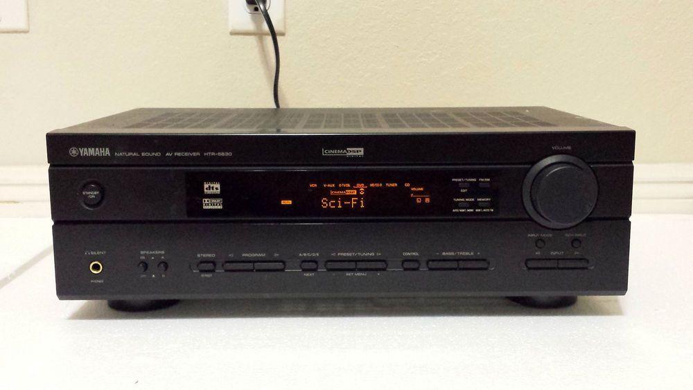 yamaha htr 5630 natural sound av receiver no remote yamaha rh pinterest com Yamaha HTR-5630 Receiver yamaha htr 5630rds manual