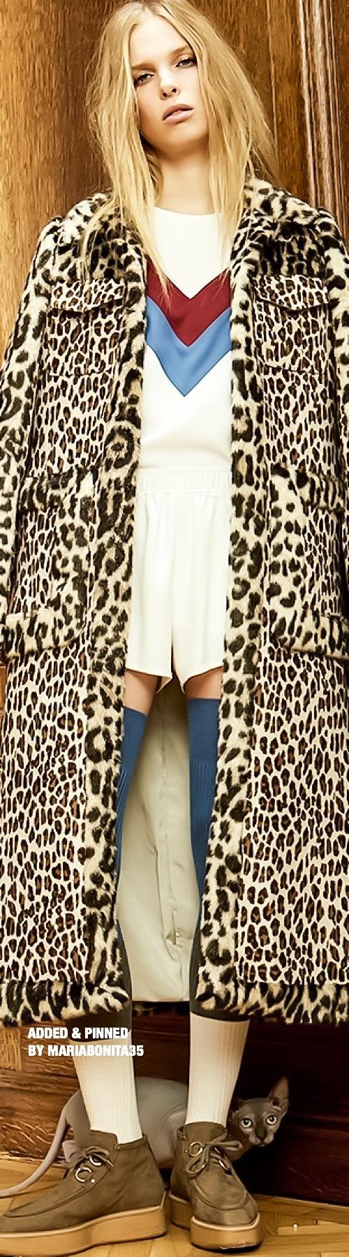 Stella McCartney PreFall 2016 Animal Instinct