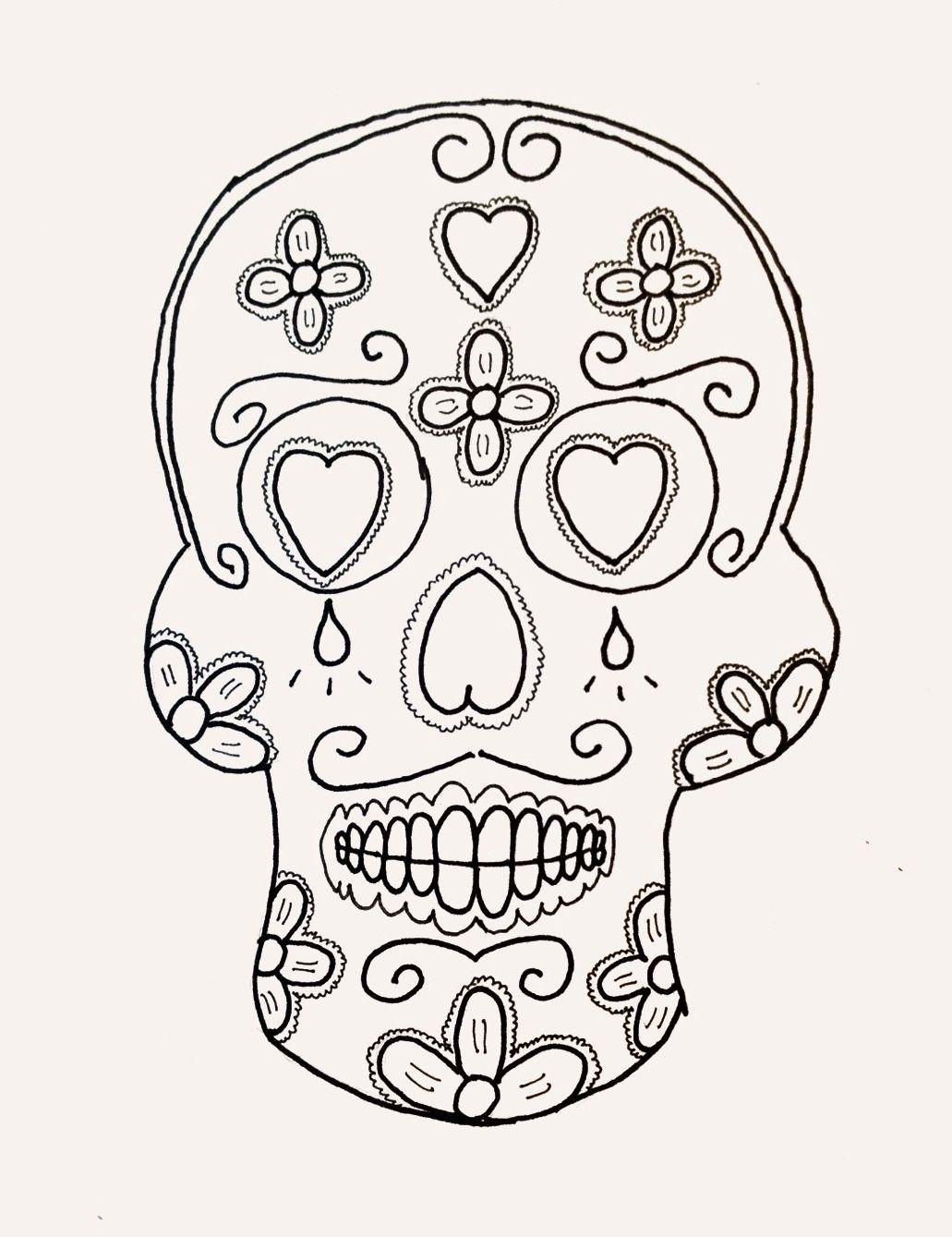Mexican skull folklore día de los muertos calaca calavera mexicana ...