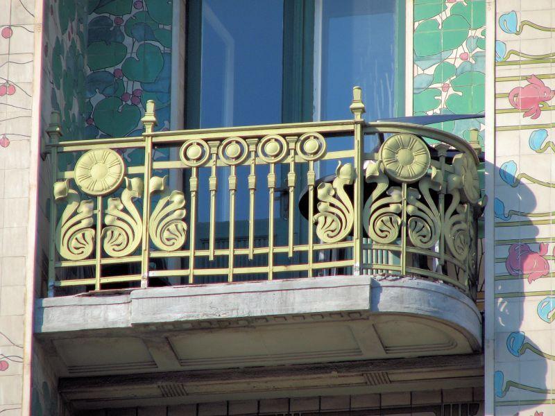 Otto Wagner, Majolikahaus, Vienna