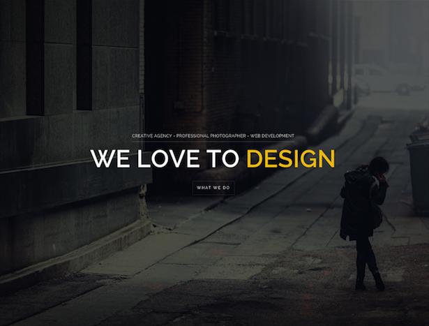 parallax scrolling templates for wordpress design. Black Bedroom Furniture Sets. Home Design Ideas