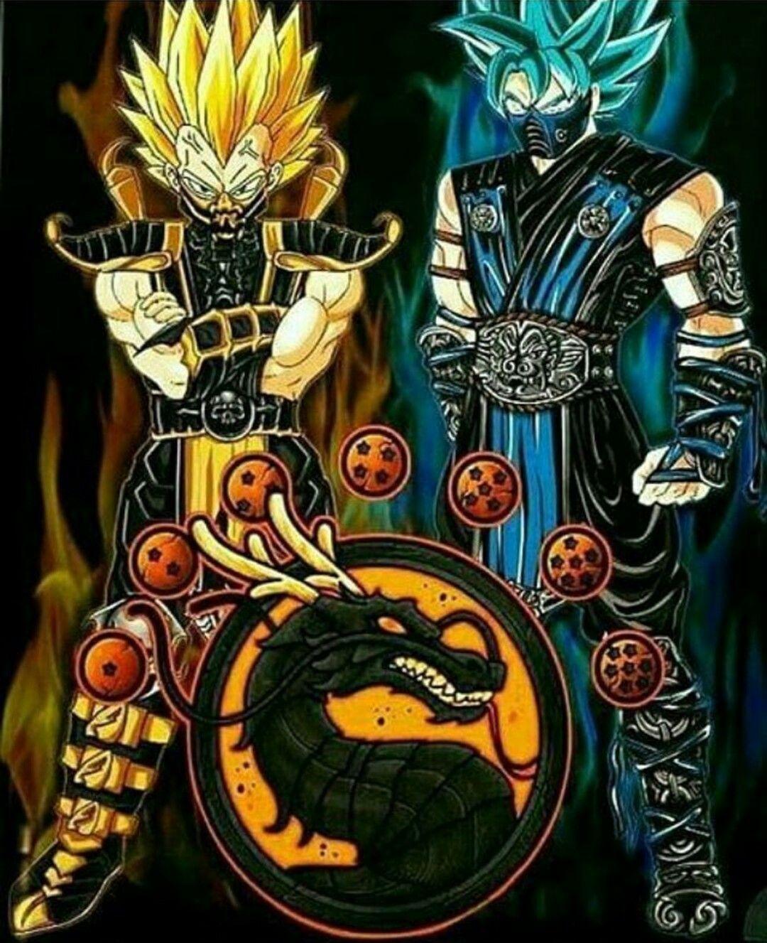 DragonBall Mortal Kombat Style