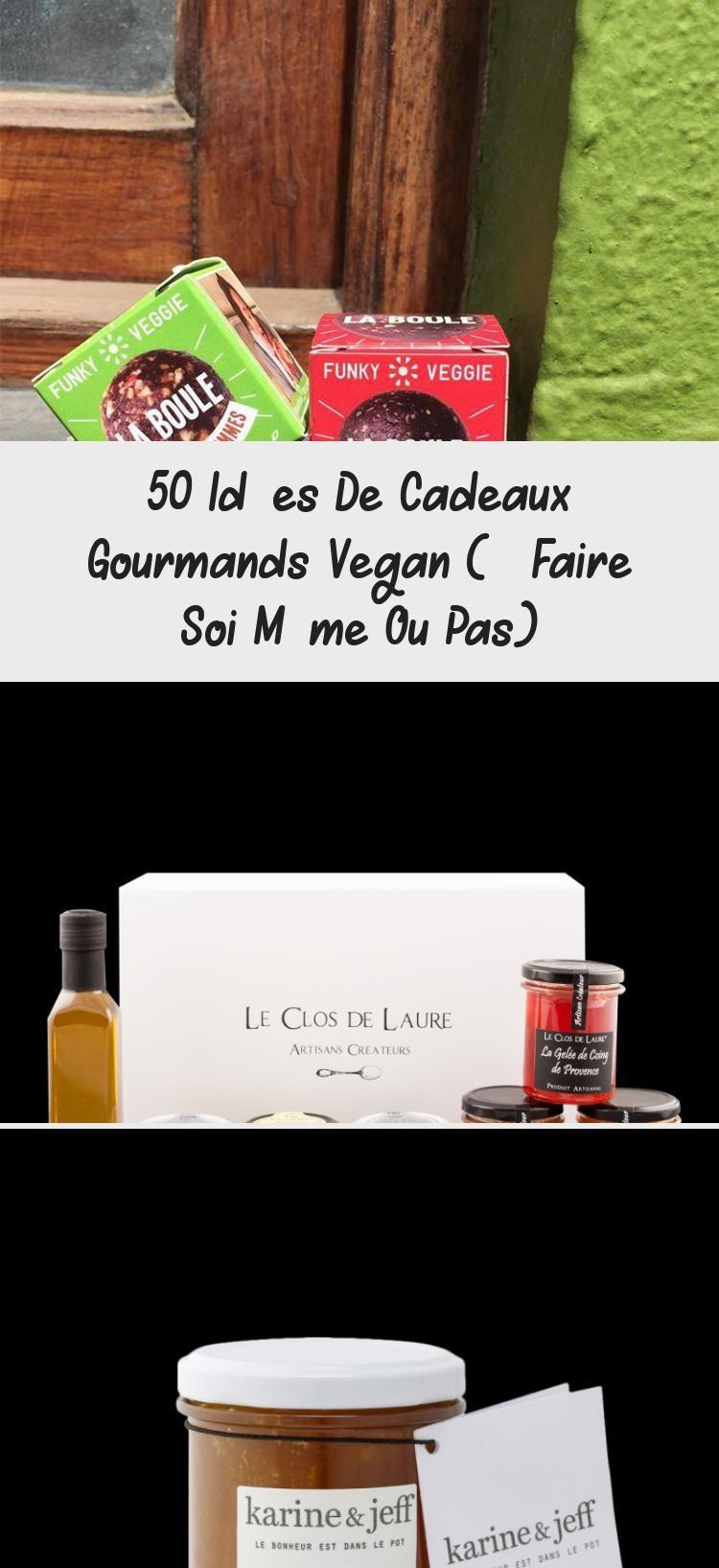 50 Idées De Cadeaux Gourmands Vegan (à Faire Soi Même Ou Pas) #truffesauchocolat