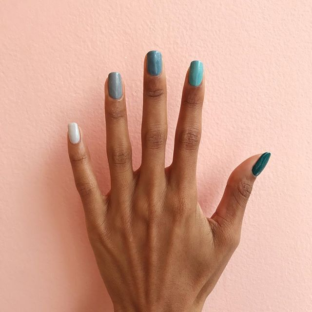 Mondays Aren T So Bad With Ombre Nails What Palette Are You