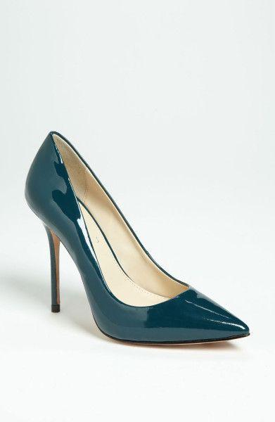 Boutique 9 Pumps | Boutique 9 Justine Pump in Blue (turquoise patent) - Lyst