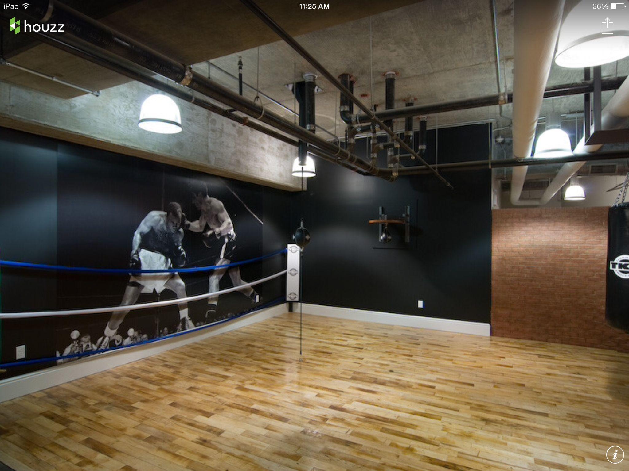 Home Gym Ideas Boxing