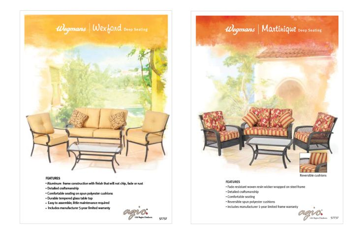 Wegmans Patio Furniture With Images