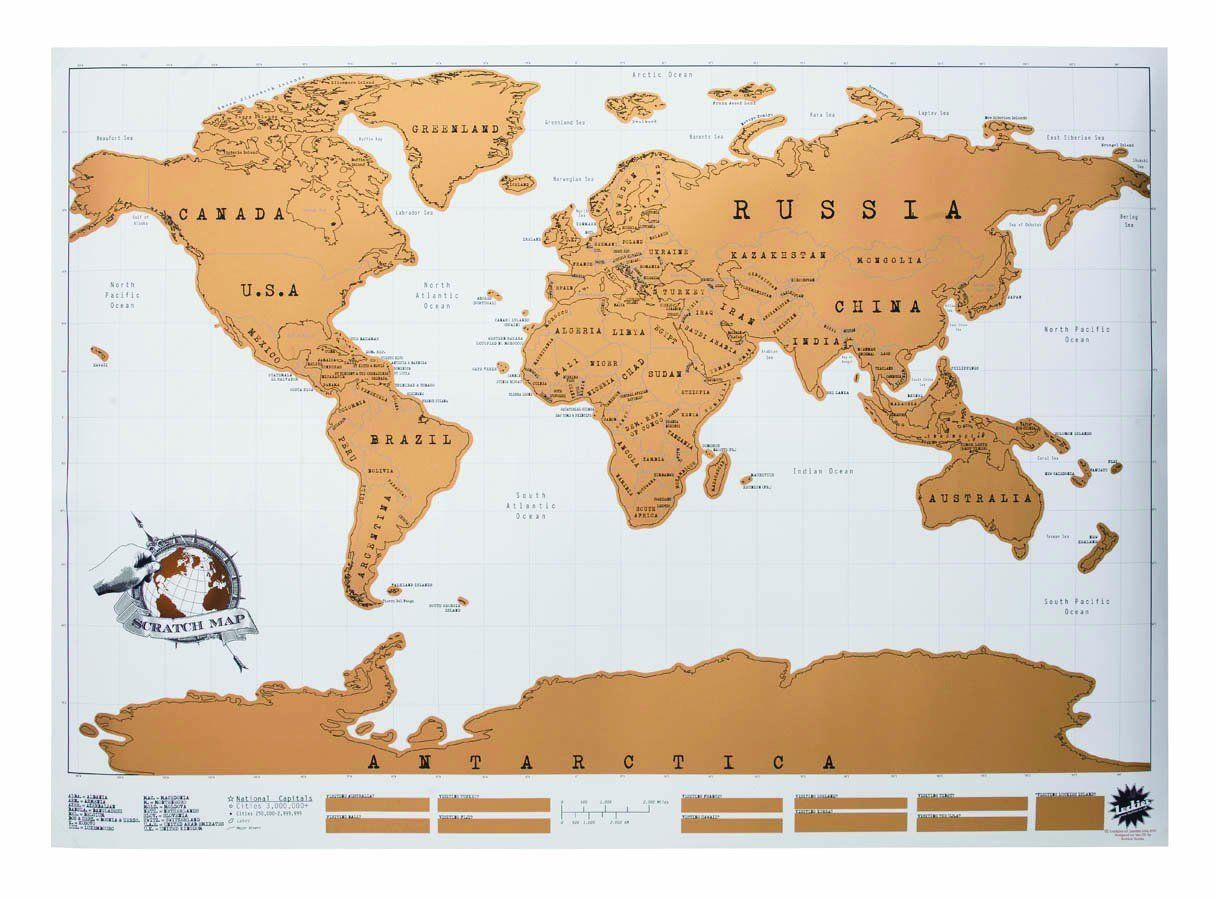 Amazon scratch off world map sports outdoors classroom amazon scratch off world map sports outdoors gumiabroncs Images