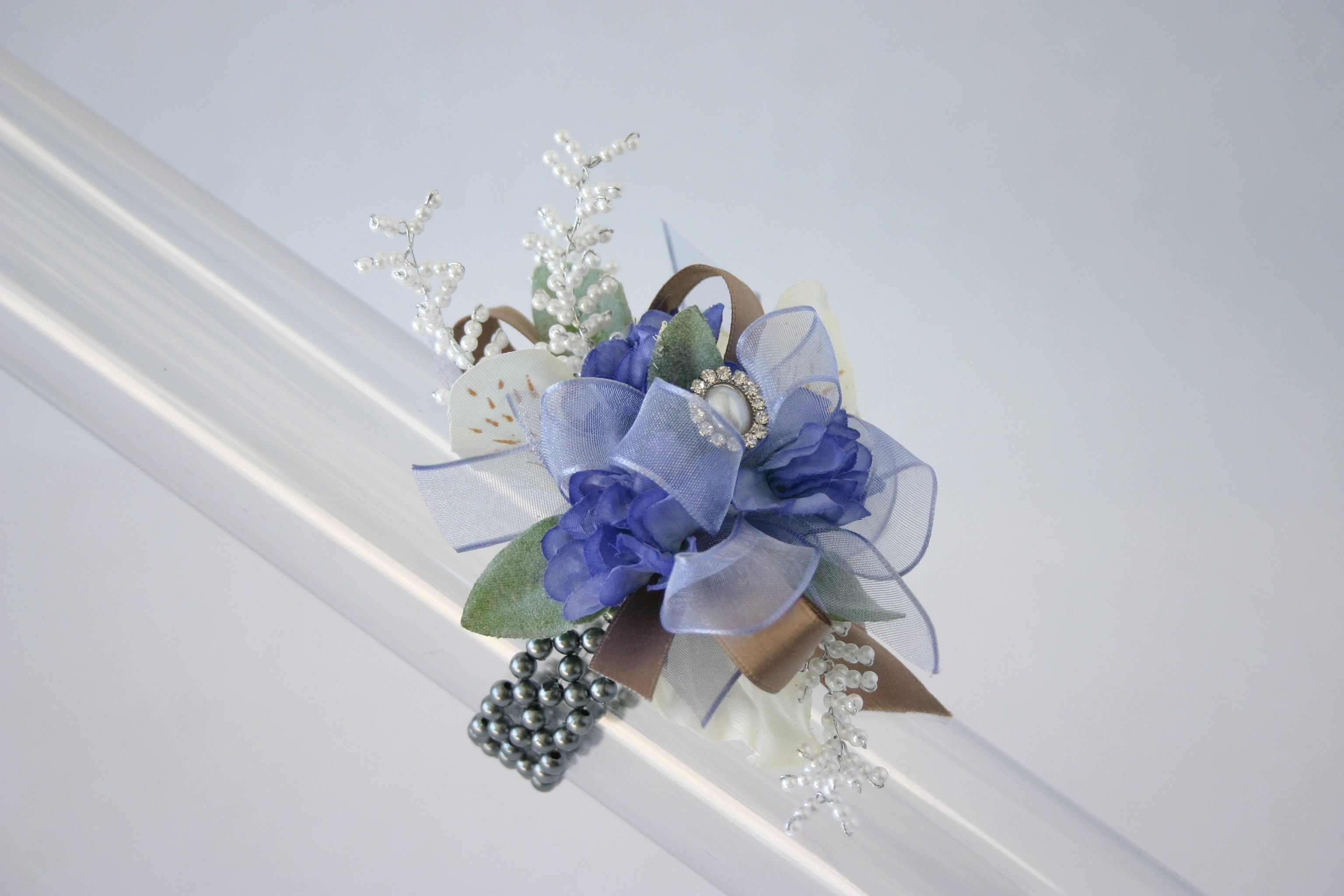 Corsage Creations Cupid Corsage Bracelet Silver