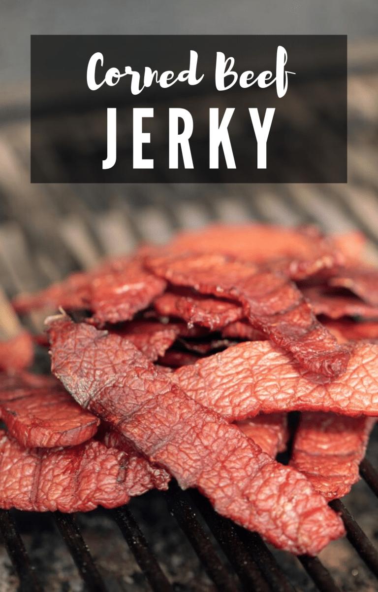 Corned Beef Jerky In 2020 Beef Jerky Recipes Corned Beef Recipes Beef Jerky