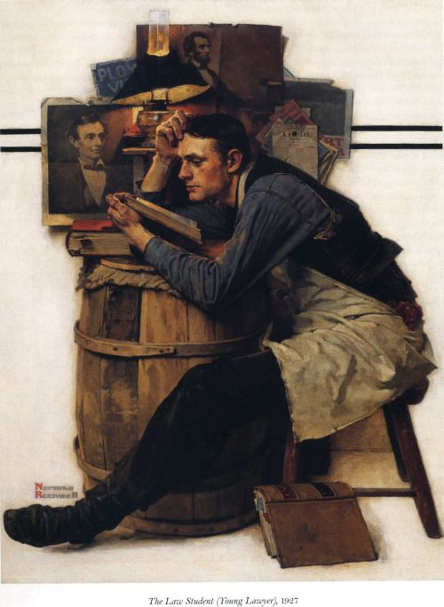 Young Lawyer (1927),Norman Rockwell