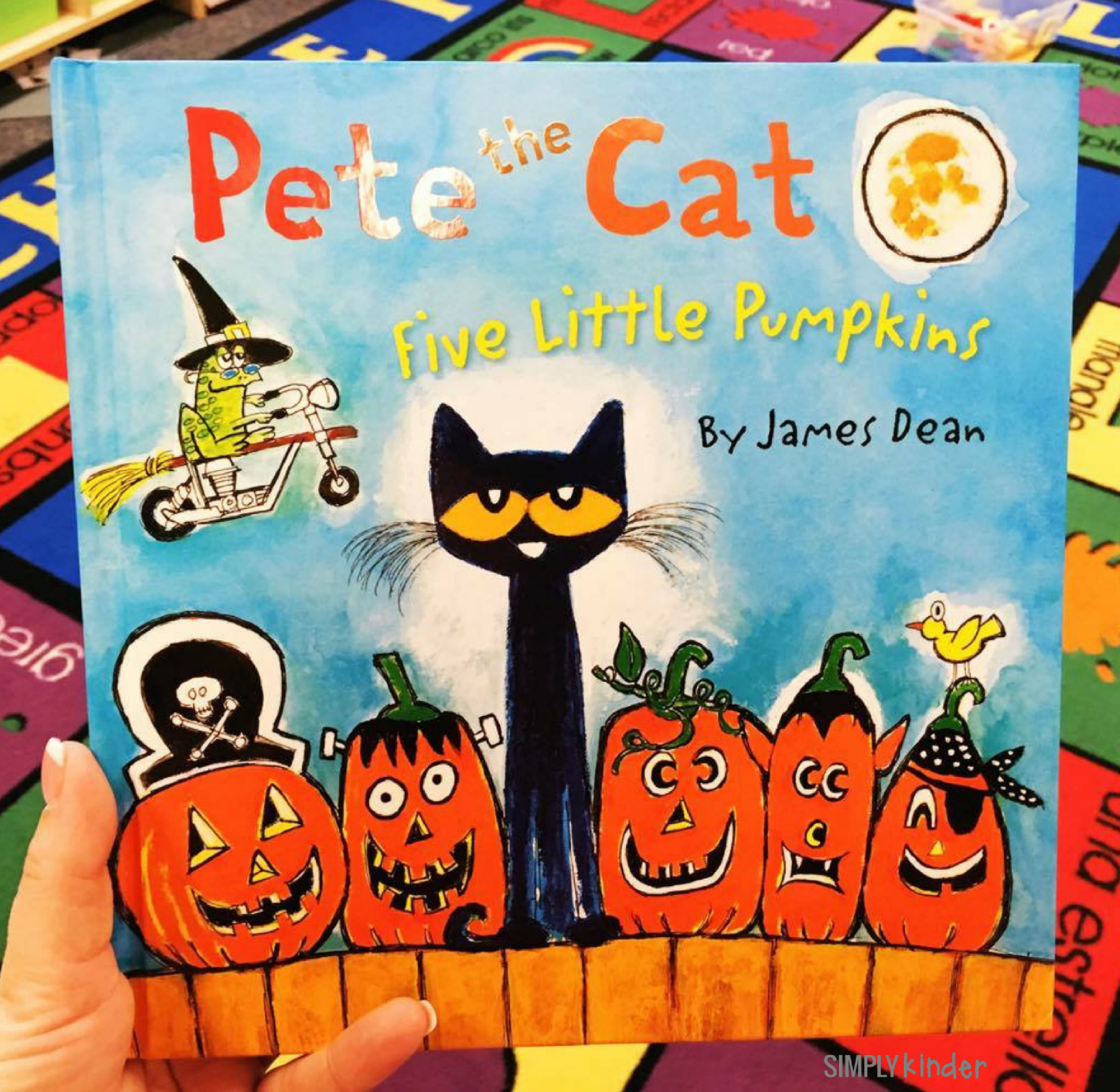 Halloween Books For Kinder