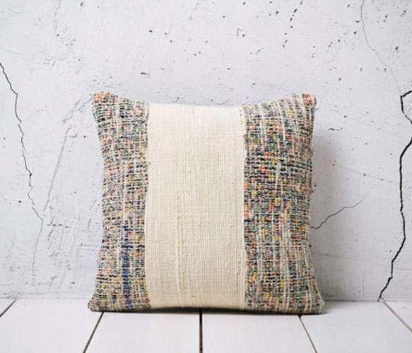 Rag Rug Pillow Cover