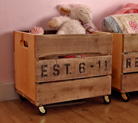 Great Toy Storage Idea For The Kidu0027s Room From Wood Pallets