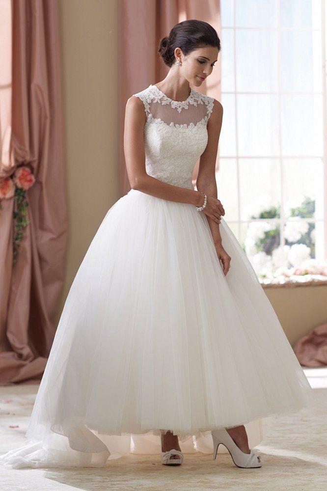 Short and Tea Length Wedding Dresses : Brautkleid Beatrice ...