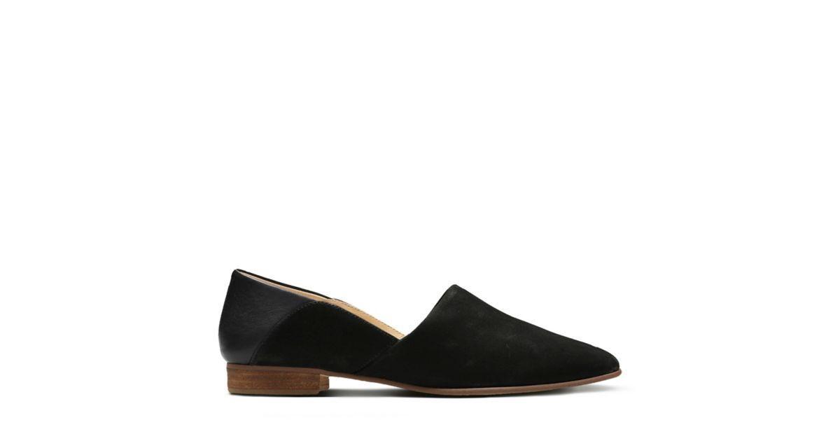 9bce08ecc Clarks Pure Tone - Womens Shoes Black Combination 6.5