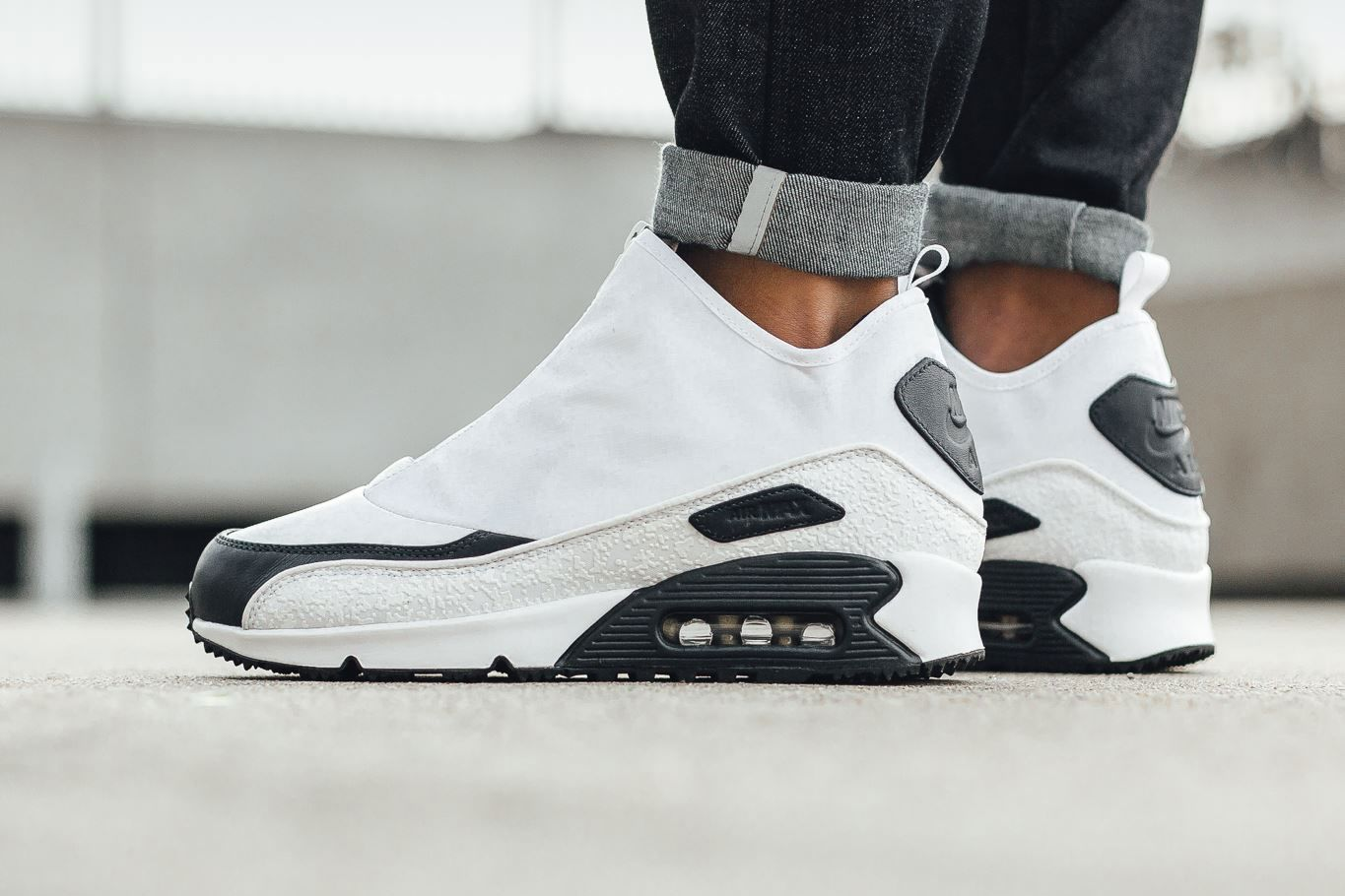 sale retailer b593d de8b9 The Nike Air Max 90 Utility Is Now Available With a Weather-Proof White  Upper
